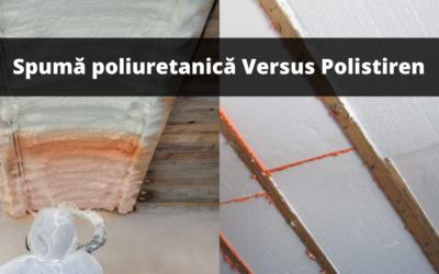 Spumă poliuretanica sau polistiren – ce să alegi?