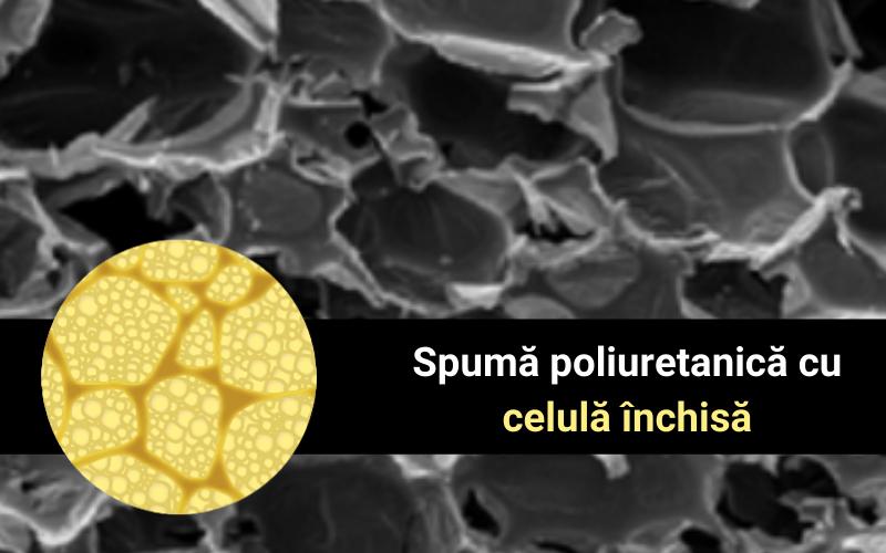 Spuma poliuretanica cu celula închisă